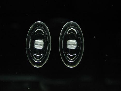 Oval, 13,0 mm, Schraub, Silikon QualityPad