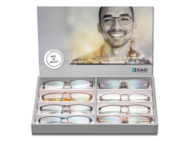 """Papiereinleger """"BEST OF METAL"""" für Präsentationsbox Komplettbrillen"""