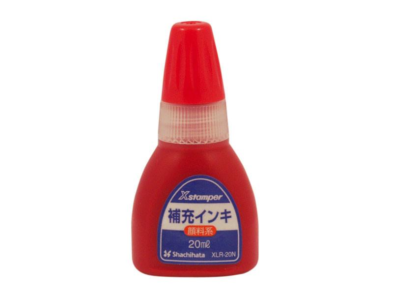Tinte, rot, Scheitelbrechwertmesser