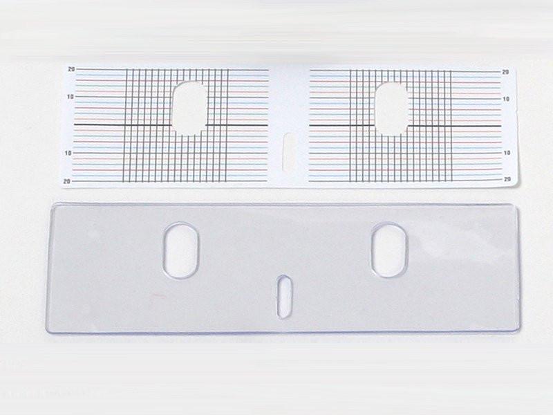 PVC-Auflage mit Papierraster, 2 Stk., LessStress
