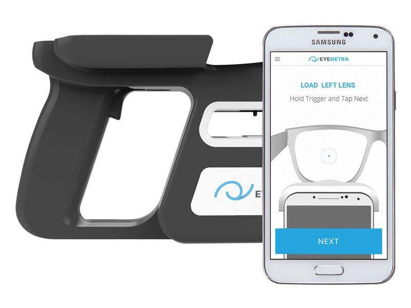 EyeNetra Mobiles Scheitelbrechwert-Messgerät
